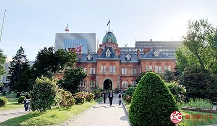 北海道札幌市区景点红砖厅舍