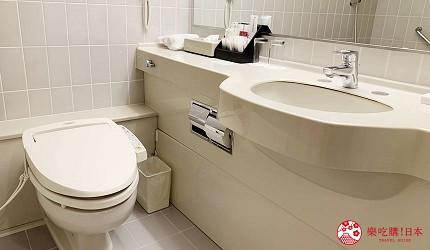 北海道札幌住宿推荐札幌ANA皇冠假日酒店舒适型客房卫浴