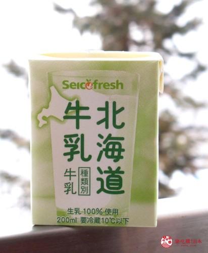 日本北海道Seicomart便利商店买得到的Seicomart「北海道牛乳」