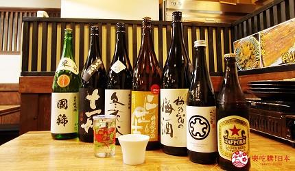 去北海道札幌必去,位于二条市场能一次过食到新鲜肥美海鲜丼、即烧即食生勐海鲜的海鲜专门店海鲜烧小屋「大矶」内提供的酒类丰富,选择多