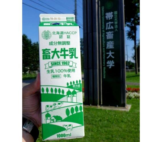 北海道道东必喝的「畜大牛乳」