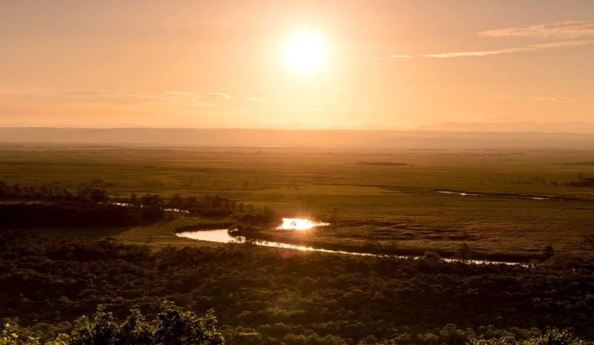 钏路湿原风景