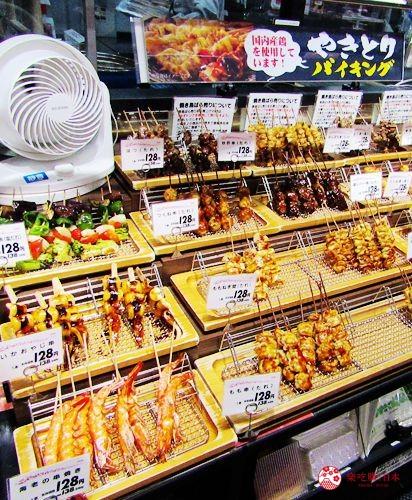 北海道旭川購物推薦必逛永旺夢樂城「AEON MALL 旭川站前」的超市的烤雞串