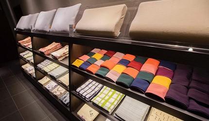 北海道函馆汤之川王子饭店「渚亭」的浴衣、枕头可以自己选
