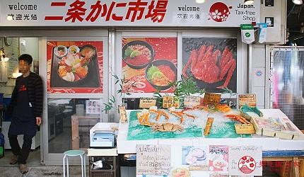 北海道札幌自由行推薦二條市場二条市場必吃必買怎麼去海鮮丼美食螃蟹海膽松葉蟹鱈場蟹毛蟹二条かに市場どんぶり茶屋海鮮処魚屋の台所だるま軒札幌拉麵哈密瓜