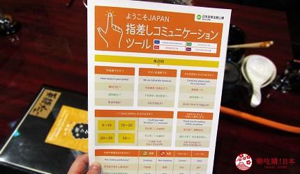 函馆必吃涮涮锅推荐「北海道涮涮锅 Pokke」店内菜单