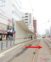 函馆必吃涮涮锅推荐「北海道涮涮锅 Pokke」的交通方式步骤一