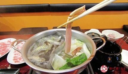 函馆必吃涮涮锅推荐「北海道涮涮锅 Pokke」涮松叶蟹蟹脚