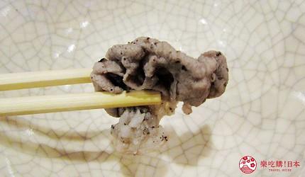 函馆必吃涮涮锅推荐「北海道涮涮锅 Pokke」的涮羊肉吃到饱喝到饱90分钟套餐的涮过后的羊肉