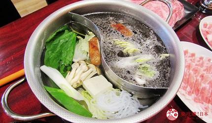 函馆必吃涮涮锅推荐「北海道涮涮锅 Pokke」的蔬菜拼盘(野菜盛り合わせ)涮涮锅