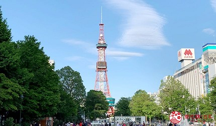 札幌住宿推薦狸小路、二條市場附近「WBF飯店札幌中央」可抵達札幌電視塔
