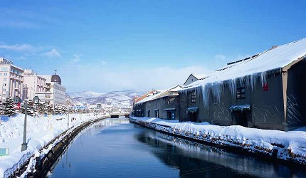 利用「北海道 Resort Liner」前往北海道小樽运河