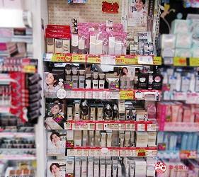 札幌必逛药妆「SUNDRUG 狸小路2丁目店」贩售的资生堂系列产品