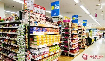 離新千歲機場最近!北海道必逛永旺購物中心「AEON 千歲店」的零食商品