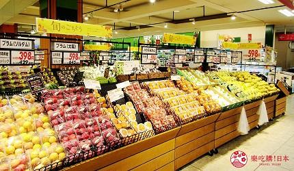 離新千歲機場最近!北海道必逛永旺購物中心「AEON 千歲店」的 AEON 超市販售的當季水果