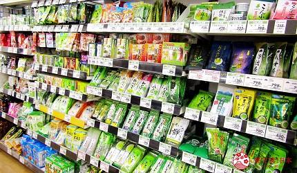 離新千歲機場最近!北海道必逛永旺購物中心「AEON 千歲店」的 AEON 超市販售的日本綠茶茶包