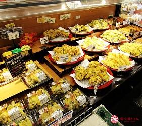 離新千歲機場最近!北海道必逛永旺購物中心「AEON 千歲店」的 AEON 超市販售的現做天婦羅