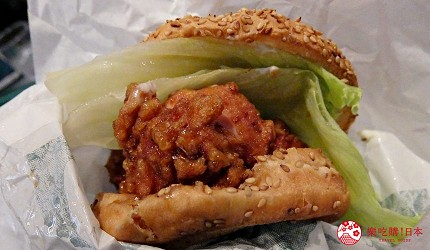只有北海道才有分店的連鎖漢堡店ラッキーピエロ的漢堡