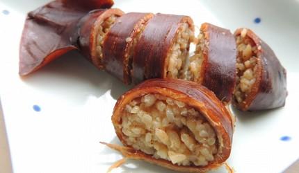 日本北海道一定要食的平價美食魷魚筒飯橫切圖