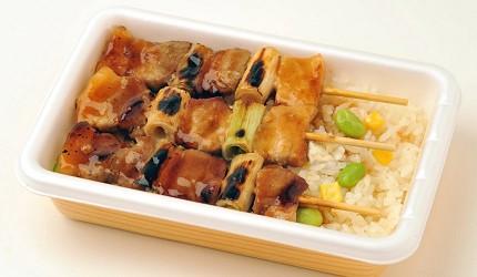 北海道ハセガワストア有售的串燒肉串便當