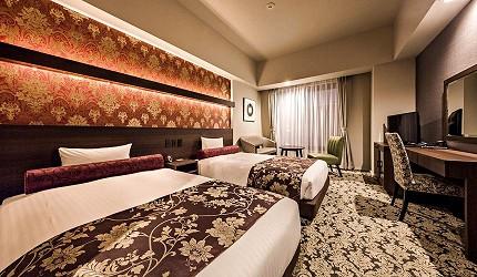 札幌住宿推薦狸小路、二條市場附近「WBF飯店札幌中央」的高級雙床房