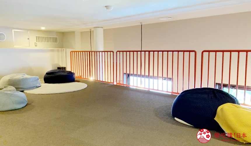 函館住宿推薦青年旅館「HakoBA 函館」的 PLAYROOM 閣樓