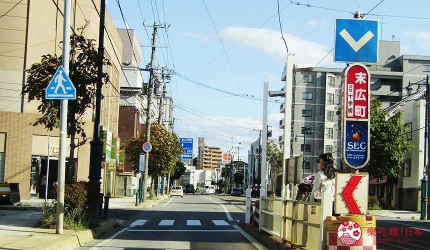 函館住宿推薦青年旅館「HakoBA 函館」的交通方式步驟一