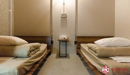 北海道道东四天三夜推荐行程的 ushiyado 民宿房间