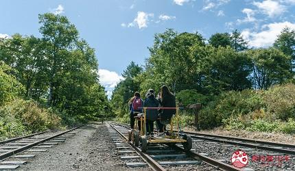北海道道东四天三夜推荐行程的旧奥行臼铁道