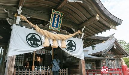北海道道东四天三夜推荐行程的「根室金刀比罗神社」