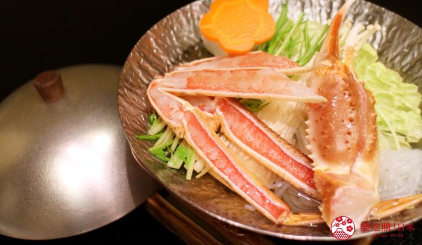 札幌螃蟹必吃推薦「螃蟹家本店」的松葉蟹小鍋(ズワイかに小鍋)遠照