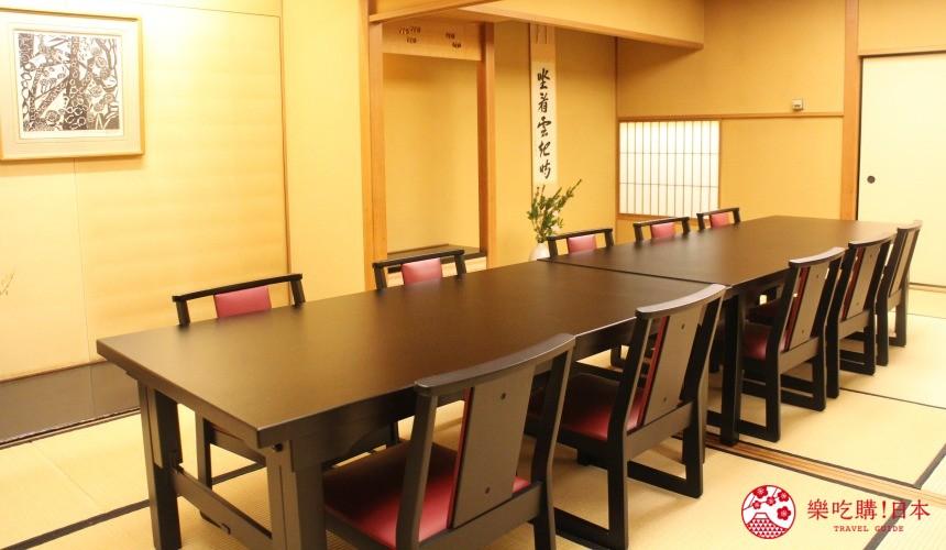 札幌螃蟹必吃推薦「螃蟹家本店」的店內四樓望鄉殿一景