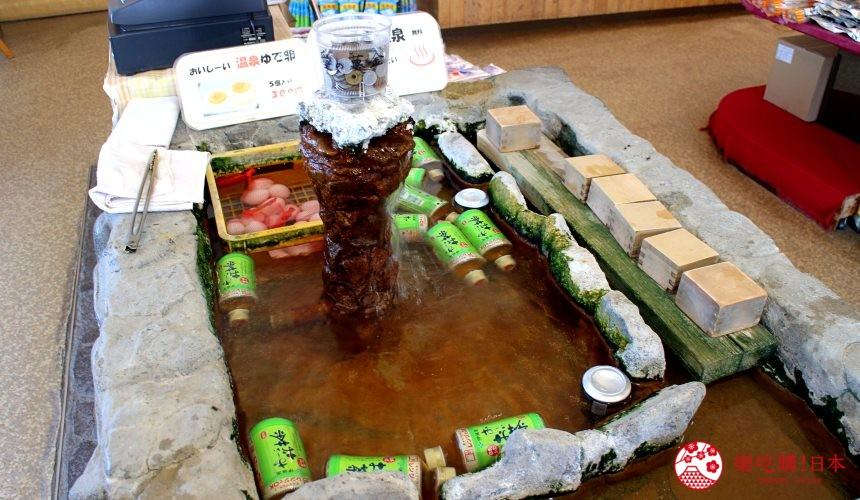 日本北海道自由行推介道東釧路的道東三湖中的屈斜路湖附近的可飲用的溫泉