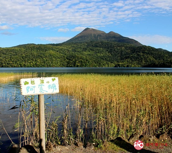 日本北海道自由行推介道東釧路的道東三湖中的阿寒湖的岸邊湖景