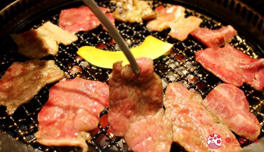 札幌和牛燒肉推薦「和牛黑澤」的牛肉五種拼盤(牛5種大皿盛)