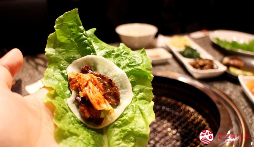 札幌和牛燒肉推薦「和牛黑澤」的韓式小菜醃蘿蔔與泡菜