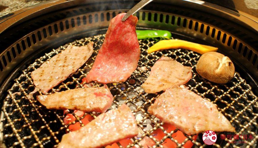 札幌和牛燒肉推薦「和牛黑澤」的白老牛三種稀少部位拼盤(白老牛希少部位3種盛り)大圖