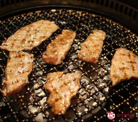 札幌和牛燒肉推薦「和牛黑澤」的牛肉五種拼盤(牛5種大皿盛)的基本盤牛五花