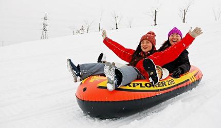 冬季遊北海道這樣玩!Rurumappu雪地遊樂園