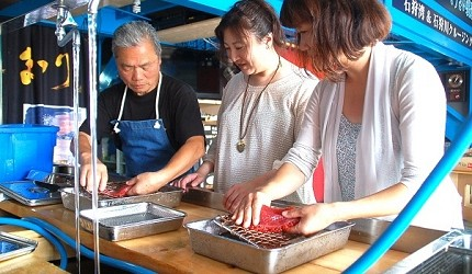 親手試做北海道必吃的絕品道地美食鮭魚卵丼飯