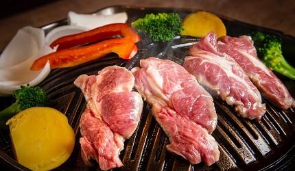 北海道必吃的絕品道地美食成吉思汗烤肉福助的烤肉實況