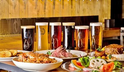 北海道必吃的絕品道地美食-NORTH ISLAND BEER的6款精釀啤酒跟美食