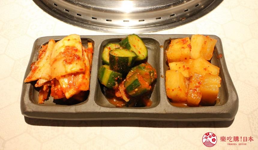 北海道超软嫩烧肉推荐!只用A4高级和牛的札幌人气烤肉店「NANKOU园」的道地韩式腌制小菜