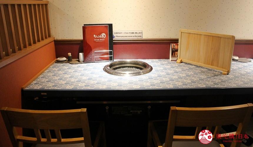 北海道超软嫩烧肉推荐!只用A4高级和牛的札幌人气烤肉店「NANKOU园」的双人雅座