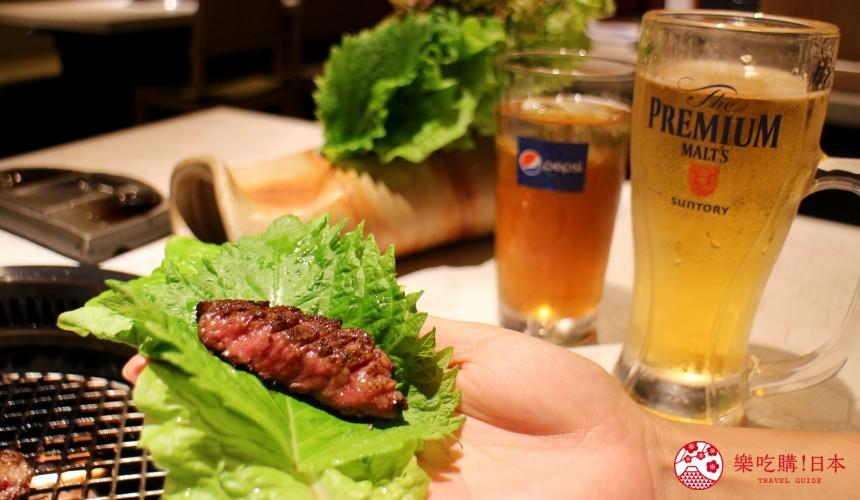 北海道超软嫩烧肉推荐!只用A4高级和牛的札幌人气烤肉店「NANKOU园」的特选黑毛和牛牛排搭配啤酒