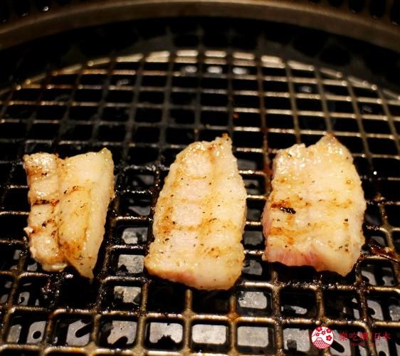 北海道超软嫩烧肉推荐!只用A4高级和牛的札幌人气烤肉店「NANKOU园」的伊比利猪颈肉烤熟后