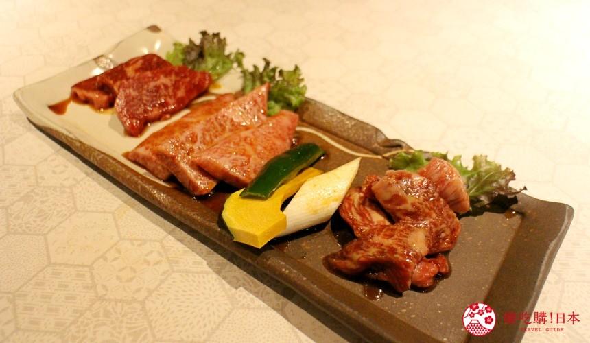 北海道超软嫩烧肉推荐!只用A4高级和牛的札幌人气烤肉店「NANKOU园」的红肉拼盘横隔膜、牛里肌、牛五花