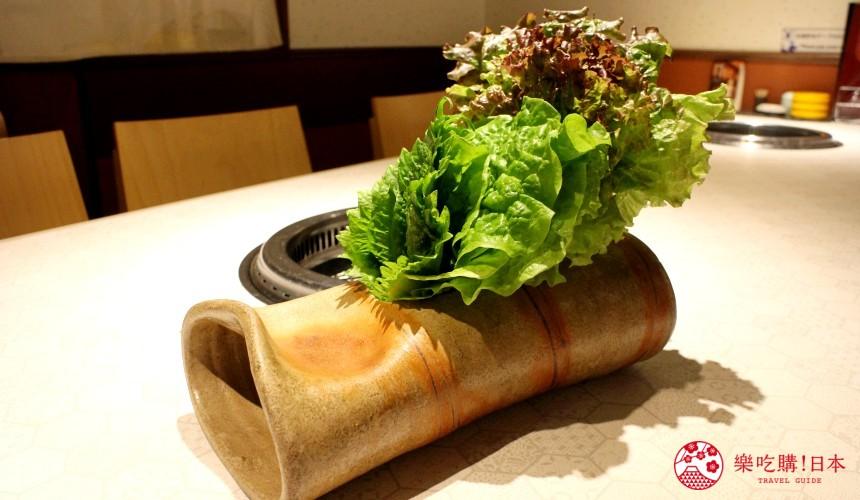北海道超软嫩烧肉推荐!只用A4高级和牛的札幌人气烤肉店「NANKOU园」的生菜拼盘