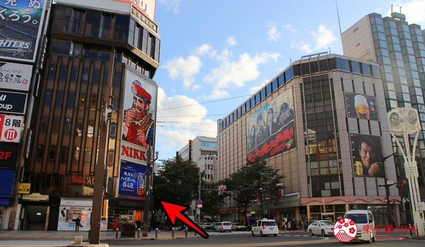 札幌和牛燒肉推薦「和牛黑澤」的交通方式步驟一