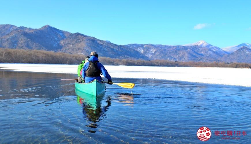 北海道道東三湖必玩雪上活動推薦推介湖冰獨木舟